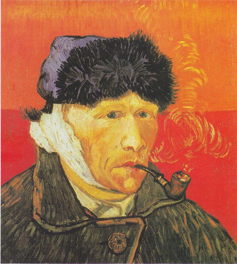 800px-Van_Gogh_-_Selbstbildnis_mit_verbundenem_Ohr_und_Pfeife
