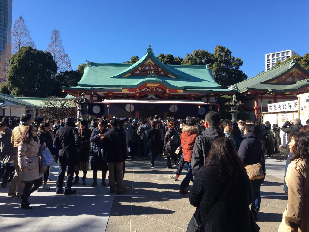 こちら氷川神社ではなく、日枝神社の写真。 氷川さまではバタバタして撮りそこねました(笑)。