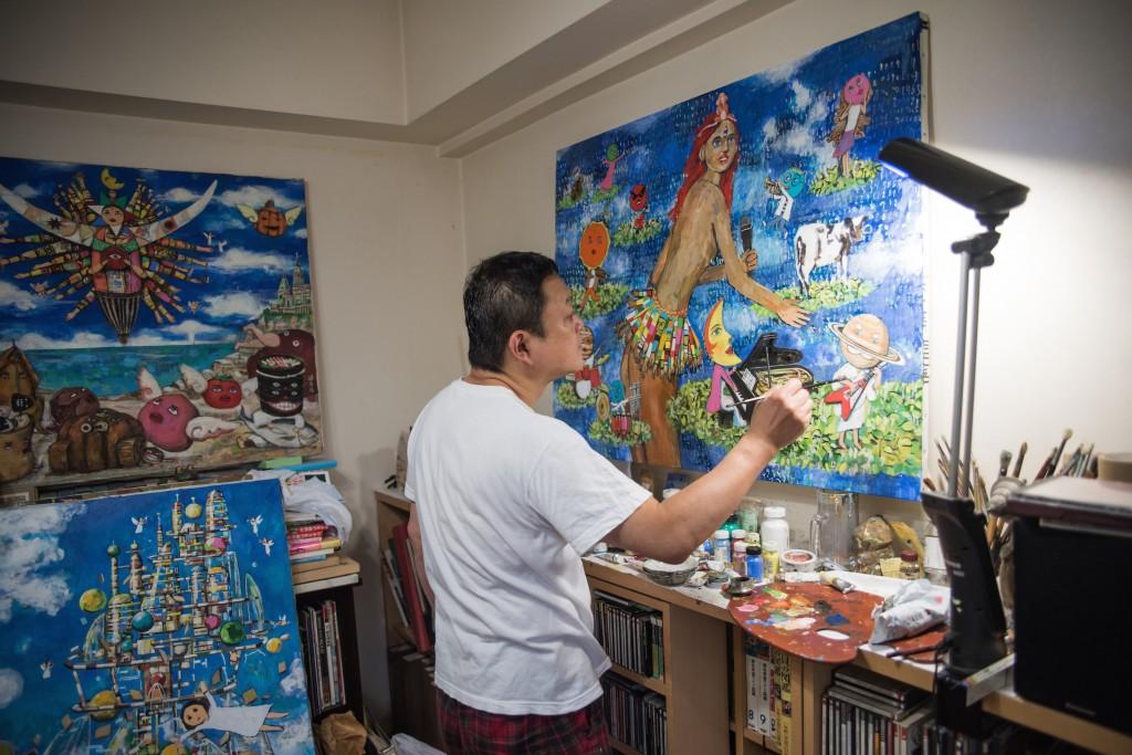 写真家の磯部宏順さんが、私のポートレートを撮影してくれました!