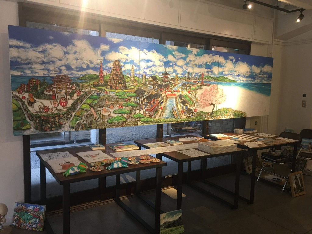 書画Collaboration展は盛会のうちに無事終了致しました〜来年、引き続き個展を開催予定です!