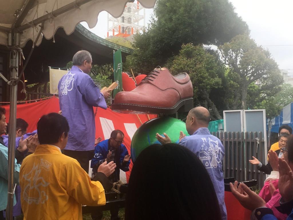 平成備忘録・クリムト展のあとは玉姫稲荷神社で「こんこん靴祭り」〜待乳山聖天さまをお参り