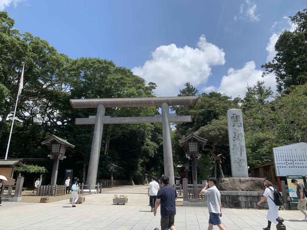 猛暑の中、鹿島神宮をお参り&水郷の町・佐原を散策してきました(其の一)!