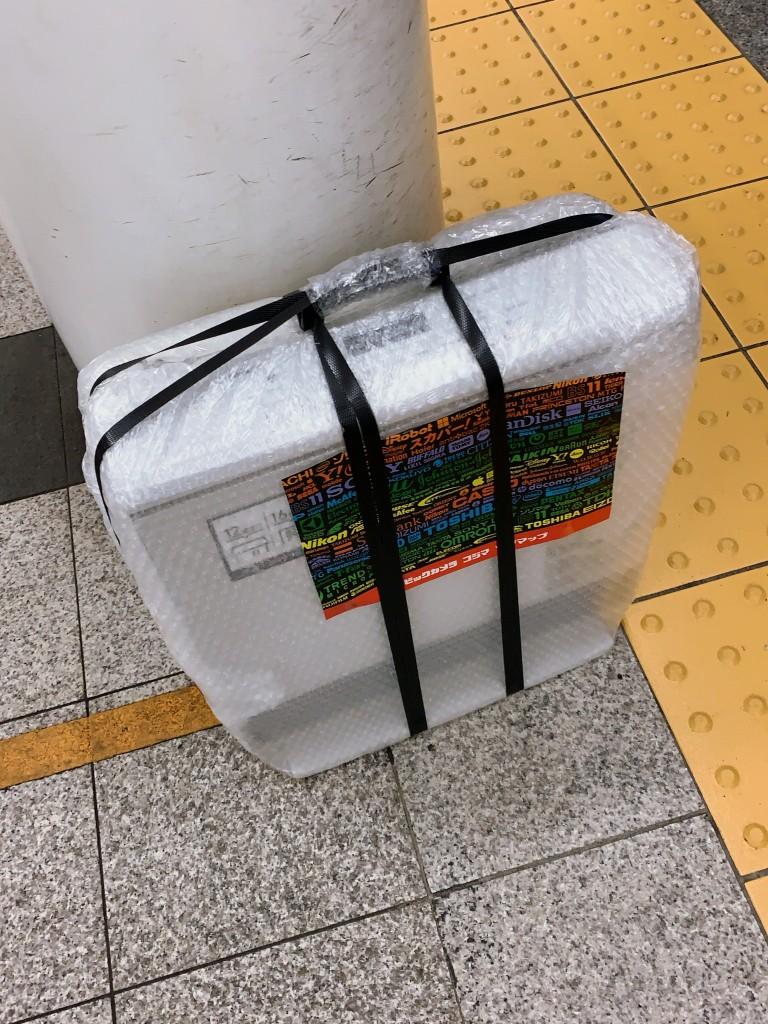 写真は銀座線赤坂見附駅に置いた新しいガスファンヒーターです。けっこう手で運ぶと重いんだよねー