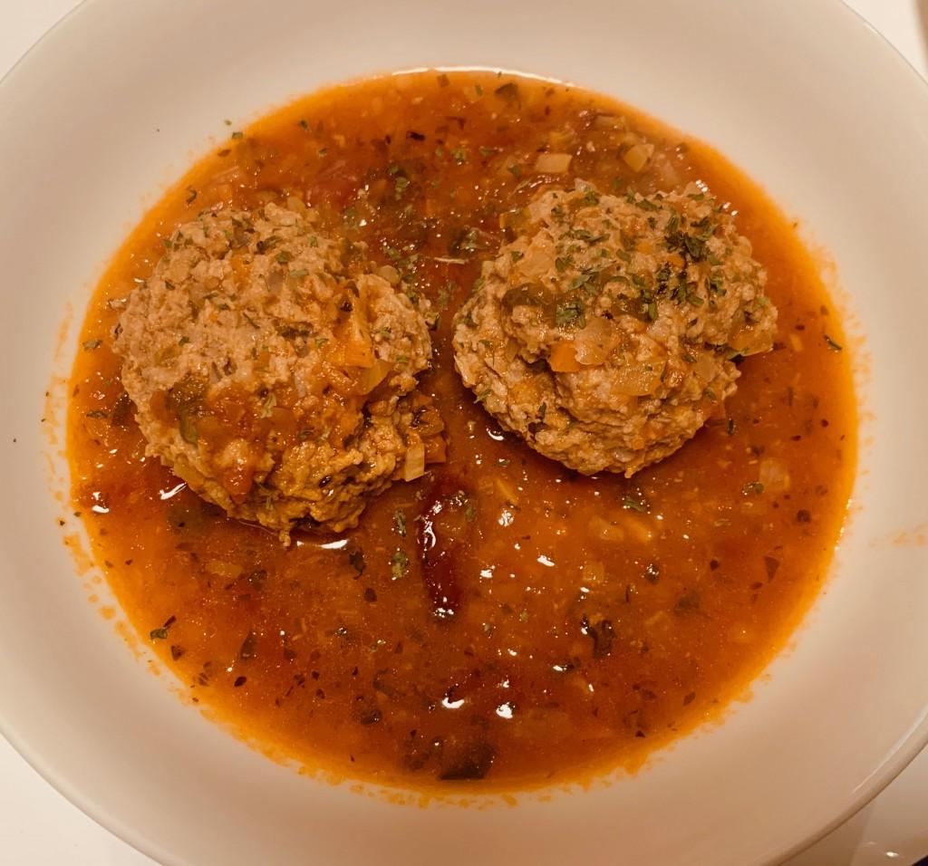 煮込み ミート ボール トマト