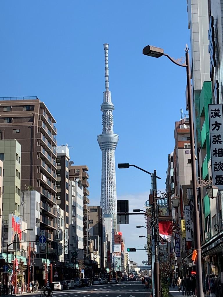 昨日、東京タワー。今日、スカイツリー〜素晴らしかった千秋楽・貴景勝 vs 照ノ富士の優勝決定戦!